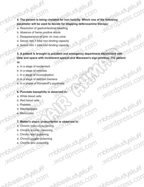 Forensic Prof. MCQ (2)
