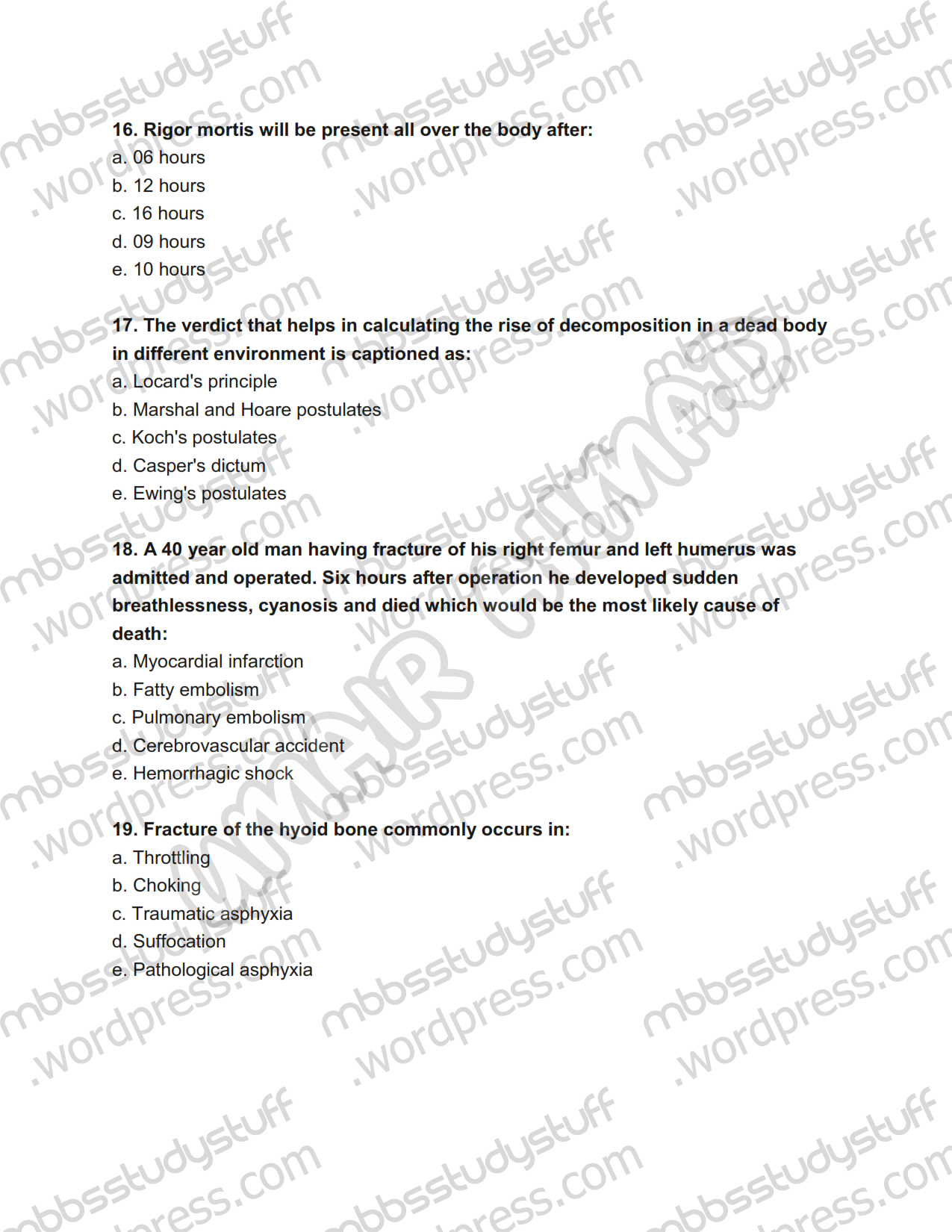 forensic toxicology research paper