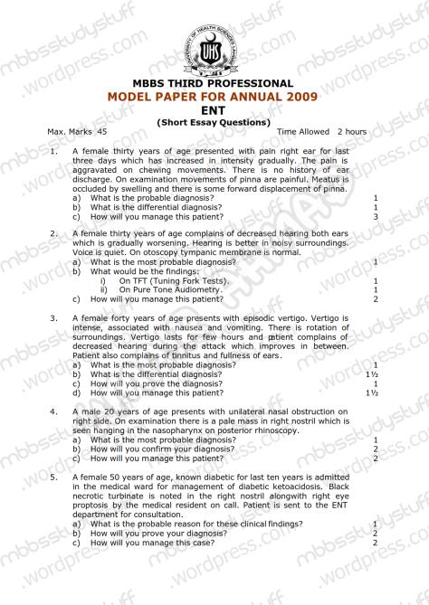 ENT Model SEQ 2009 (1)