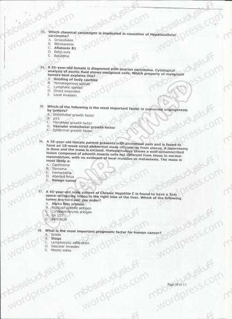 patho-mcq-model-paper-10