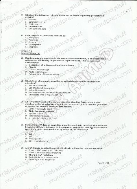 patho-mcq-model-paper-11