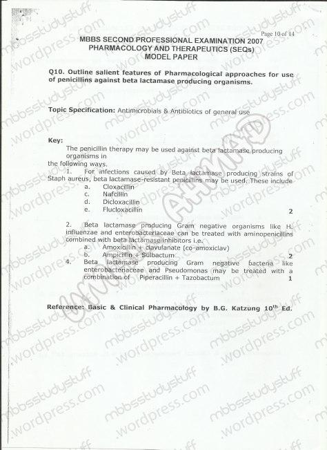 Pharma-model-paper-10