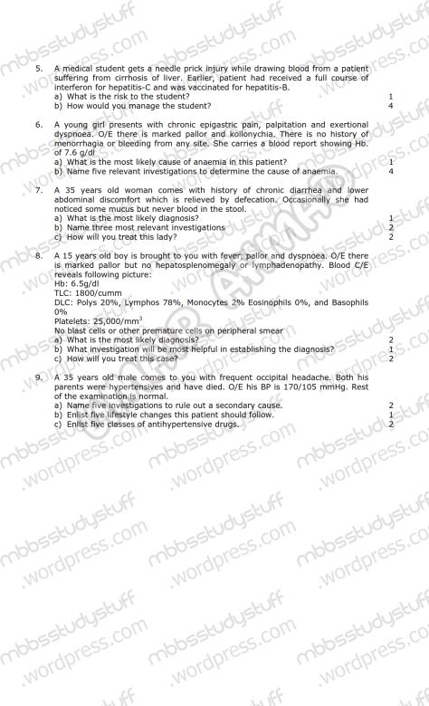 Medicine-I-Model-SEQ-2009-(2)