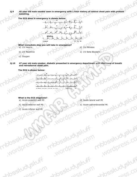 Medicine-II-Model-MCQ-2009-(5)
