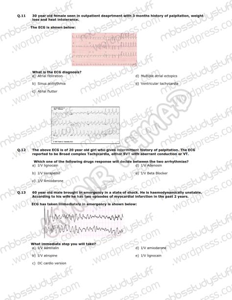 Medicine-II-Model-MCQ-2009-(6)
