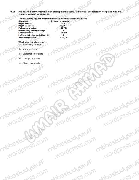 Medicine-II-Model-MCQ-2009-(8)