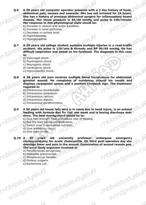 Surgery-I-Model-MCQ-2009-(2)