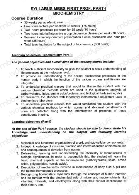 1st-Year-MBBS-Biochem-Syllbus-(1)