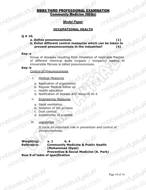 Community Medicine Model SEQ 2007 (10)