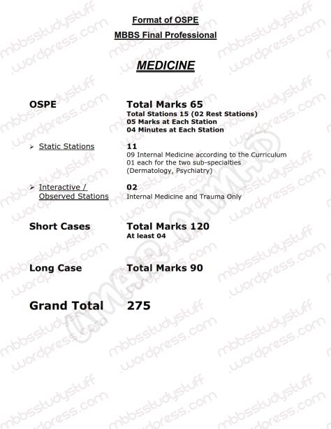 Medicine-OSPE-TOS